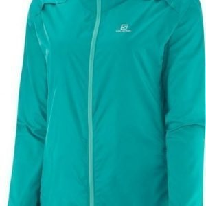 Salomon Agile Jacket Women Turkoosi XS