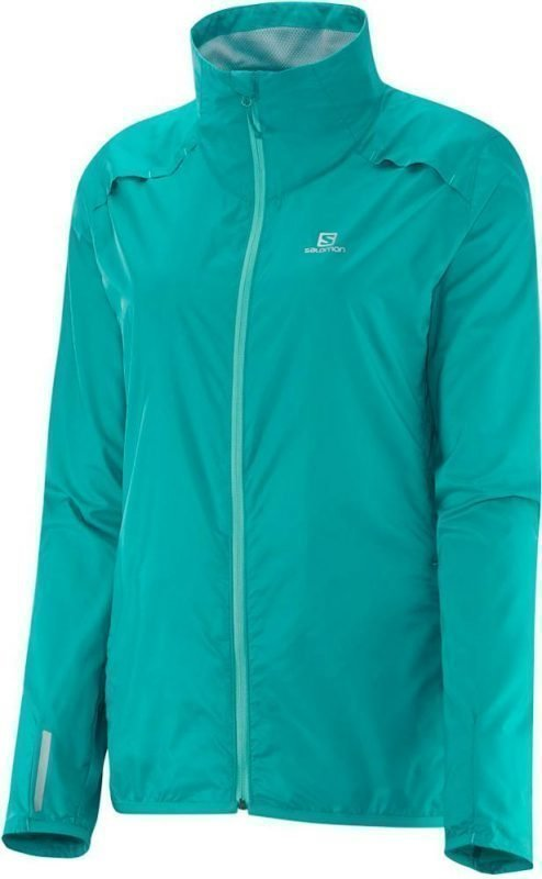 Salomon Agile Jacket Women Turkoosi XS