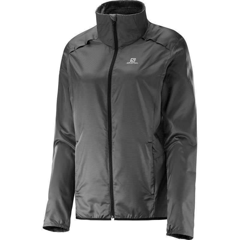 Salomon Agile Jacket Women's L Asphalt