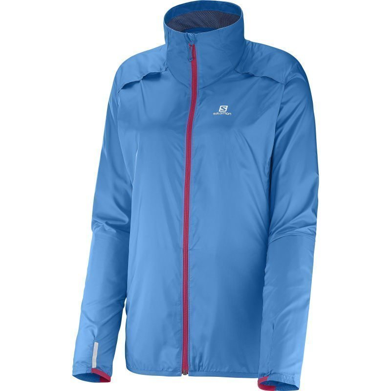 Salomon Agile Jacket Women's L Methyl Blue