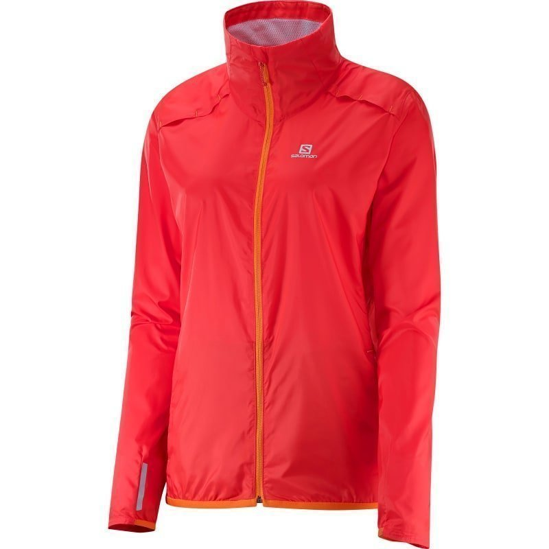 Salomon Agile Jacket Women's XL INFRARED