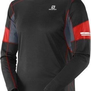 Salomon Agile LS Men Musta L