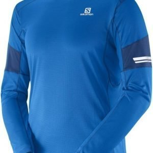 Salomon Agile LS Men Sininen L