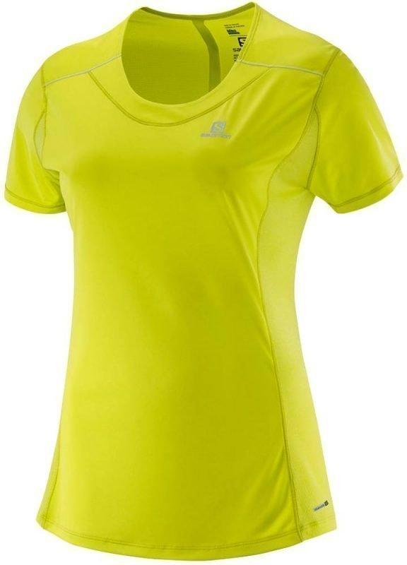 Salomon Agile SS Tee Women's Keltainen XL