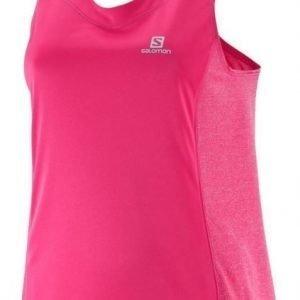 Salomon Agile Tank W Pink XS