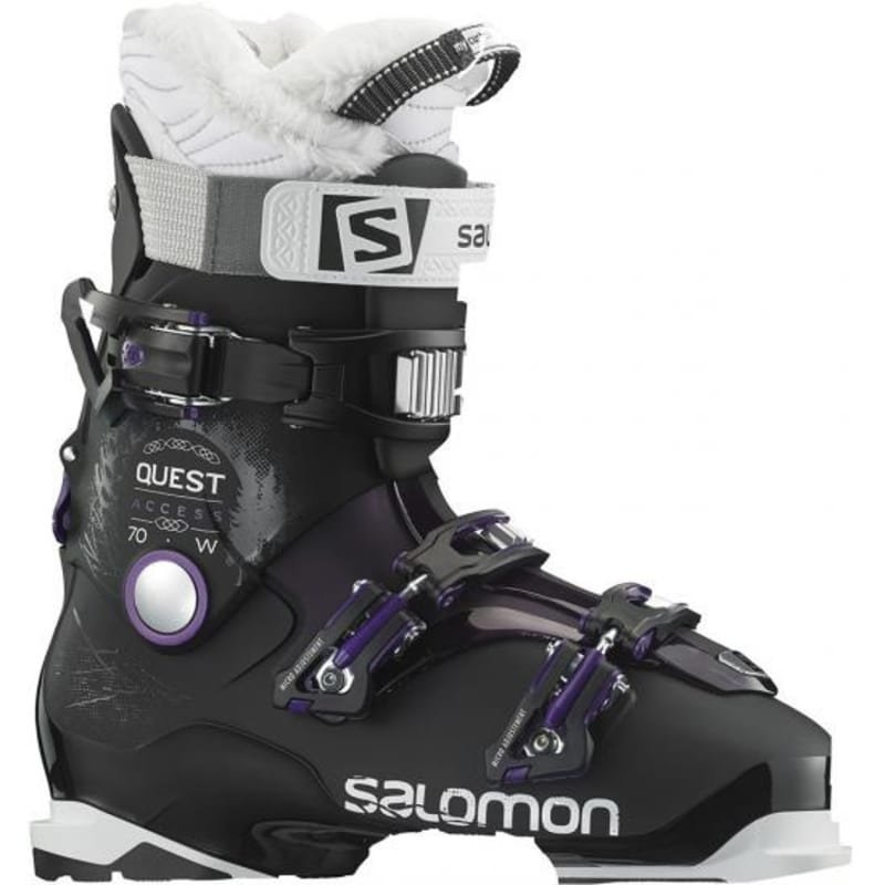 Salomon Alp. Boots Quest Access 70 W 24.5 Black