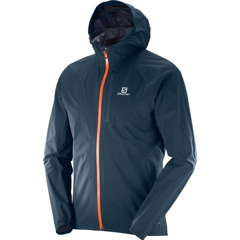 Salomon Bonatti Wp Jkt Men's 2XL Big Blue-X