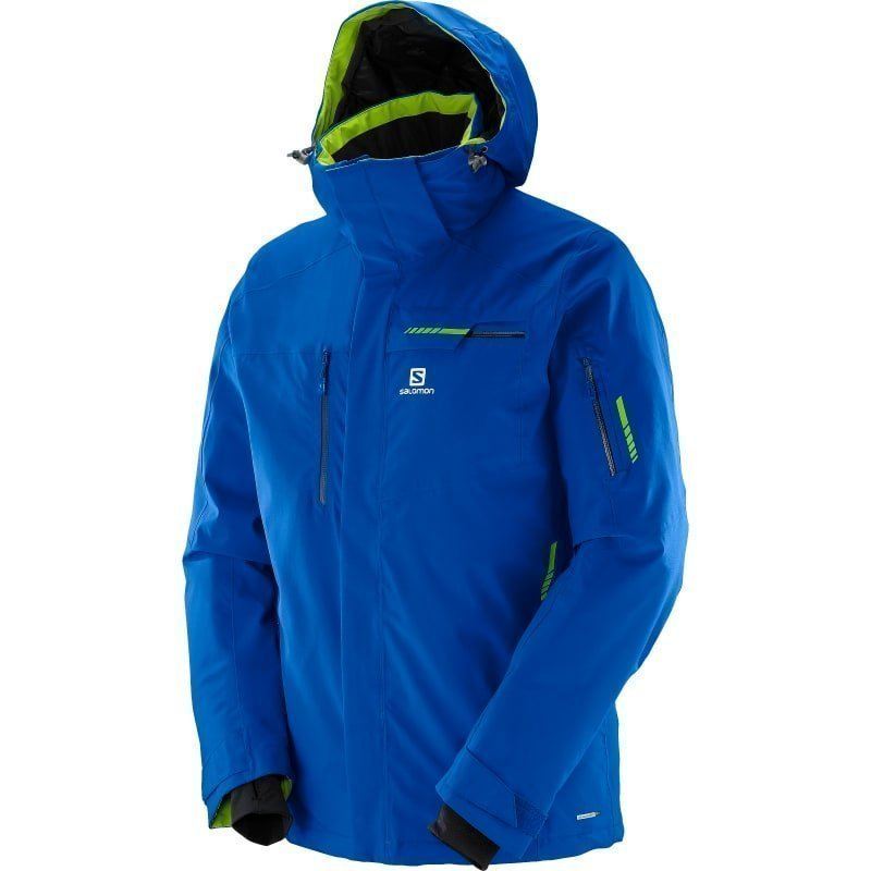Salomon Brilliant Jacket M 2XL Blue Yonder