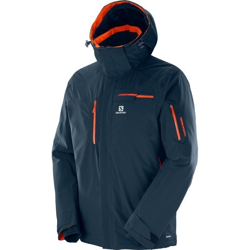 Salomon Brilliant Jacket M S Big Blue-X