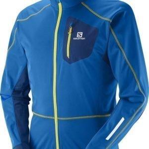 Salomon Eq Softshell Jacket Sininen M