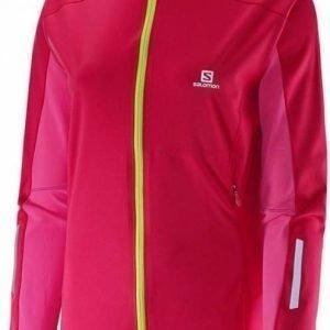Salomon Eq Softshell Women's Jacket Pink XL