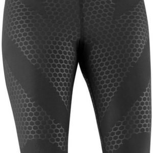 Salomon Exo Women's 3/4 Tights Musta XL