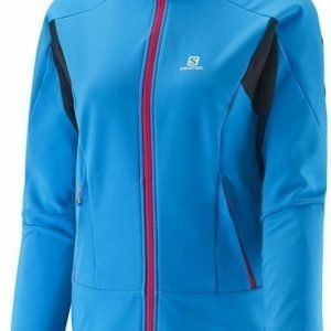 Salomon Momentum Softshell Women's Jacket Sininen L