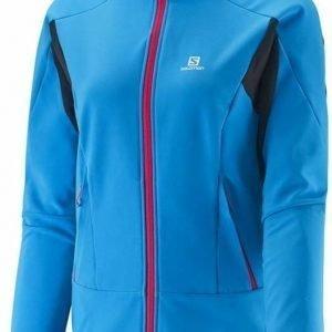 Salomon Momentum Softshell Women's Jacket Sininen XL