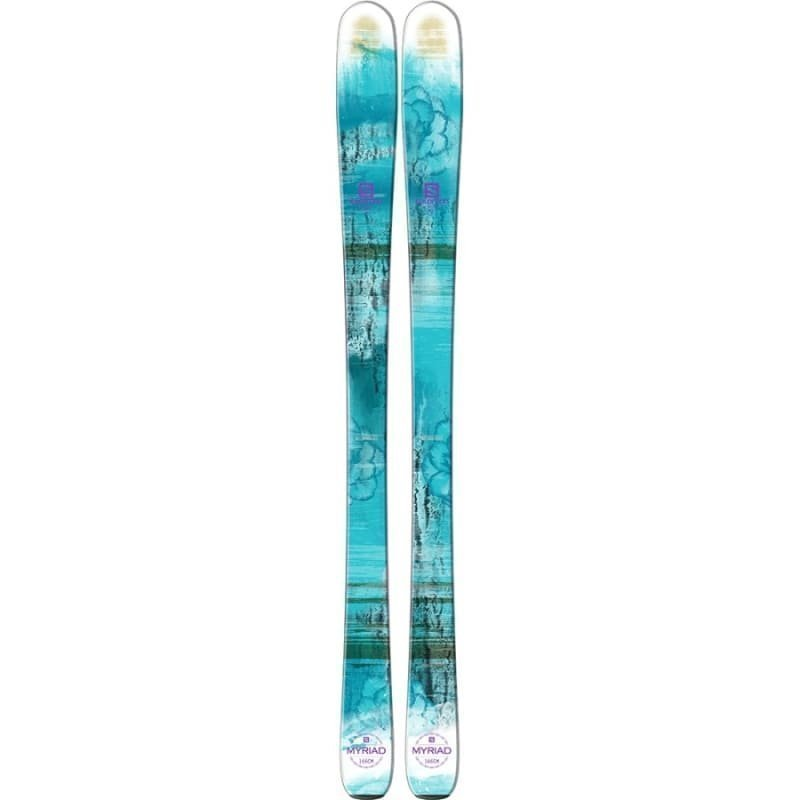 Salomon Q-83 Myriad + Z10 Ti Ski Set 159 Blue/White