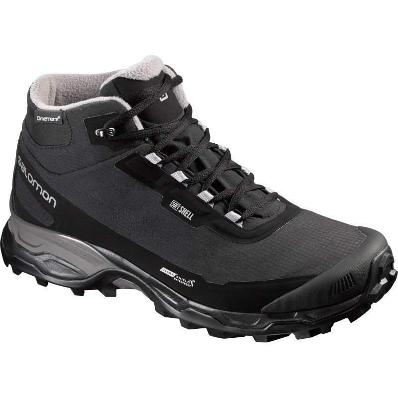 Salomon Shelter Spikes 9.5 Black / Black / Pewter