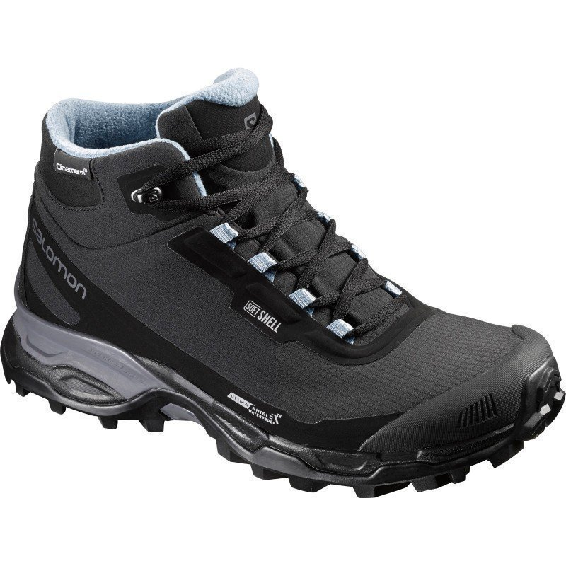Salomon Shelter Spikes W 3.5 Black / Black / Windy Blue