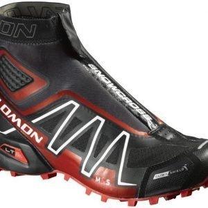 Salomon Snowcross CS Musta/punainen UK 10