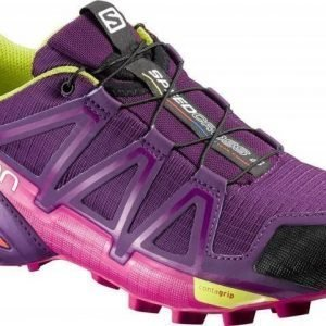 Salomon Speedcross 4 Women's Purple UK 4
