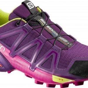 Salomon Speedcross 4 Women's Purple UK 8