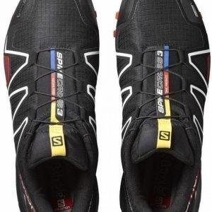 Salomon Spikecross 3 CS Musta UK 7