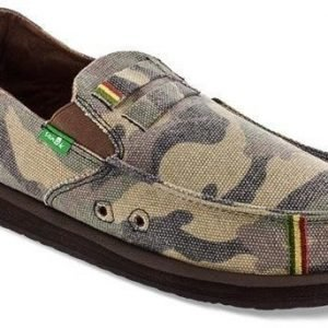 Sanuk Kingston Jute Camo