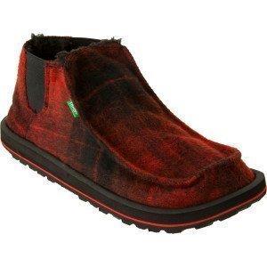 Sanuk Outlaw Lumberjack tumman punainen