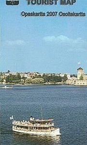 Savonlinna opaskartta 1:15 000 2009