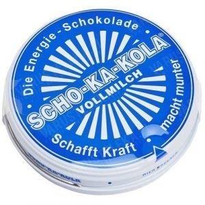 Scho-Ka-Kola 100 g peltirasiassa täysmaito