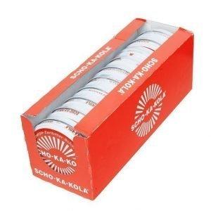 Scho-Ka-Kola 100 g peltirasiassa tumma 10 kpl laatikko