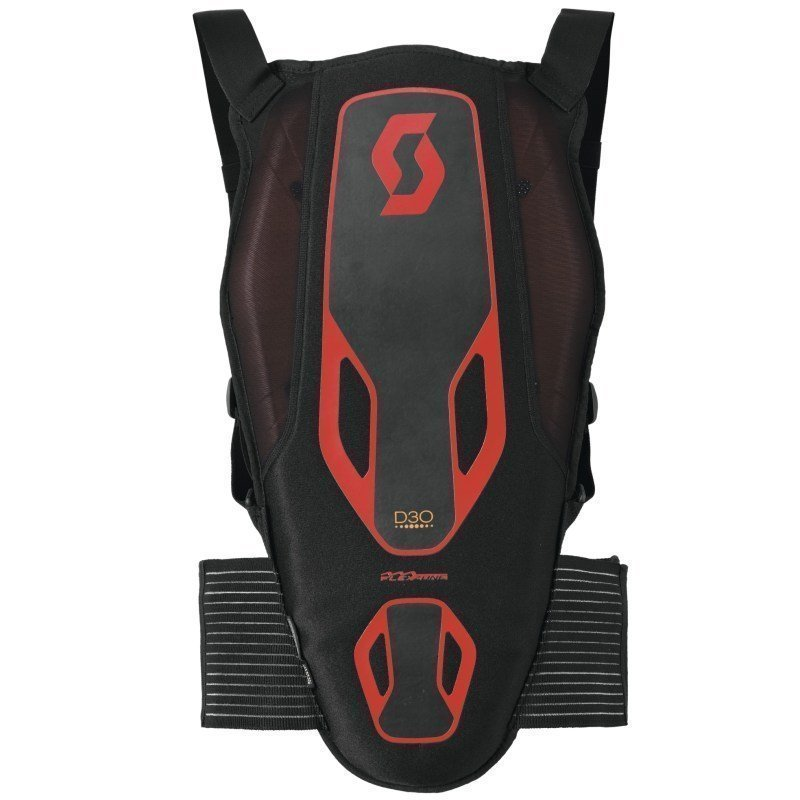 Scott Back Protector Soft Actifit M Black/Red