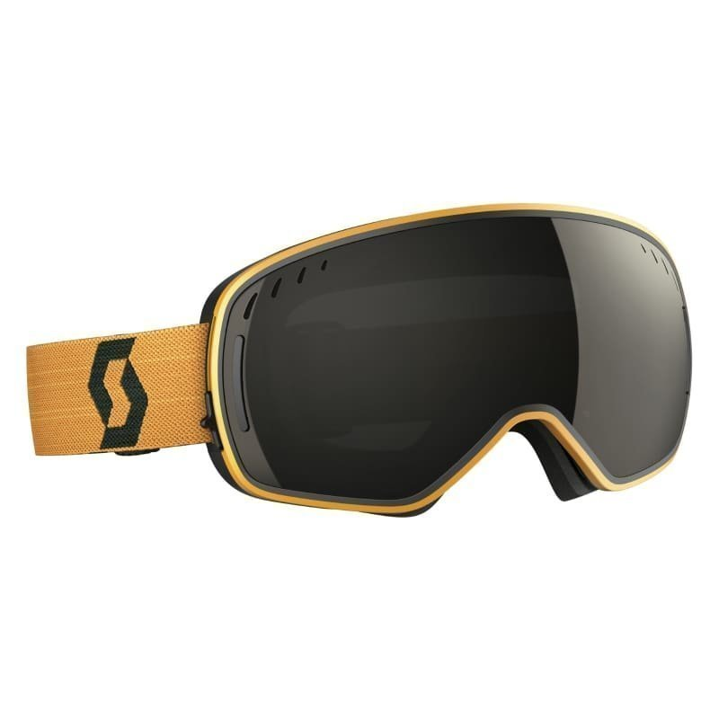 Scott Goggle LCG 1SIZE Black/Mustard Yellow