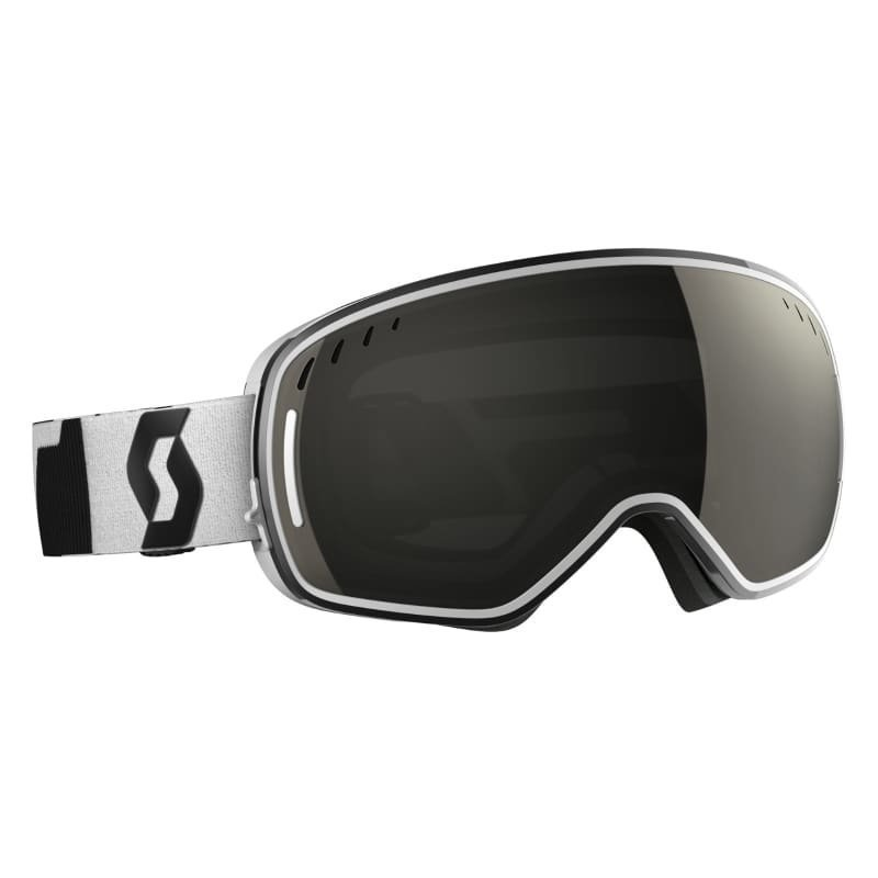 Scott Goggle LCG 1SIZE Black/White /Solar Black chro