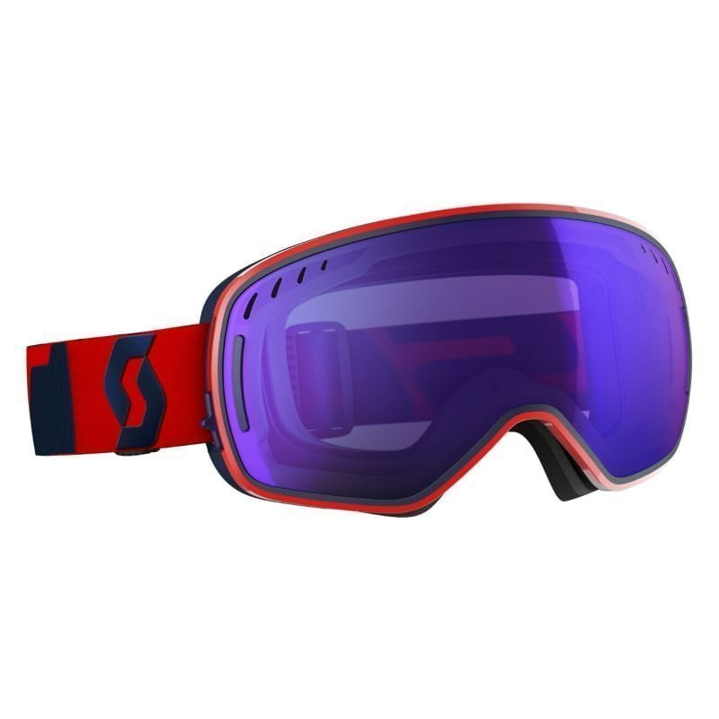 Scott Goggle LCG 1SIZE Fluo Red/Eclipse Blue /Sol Red