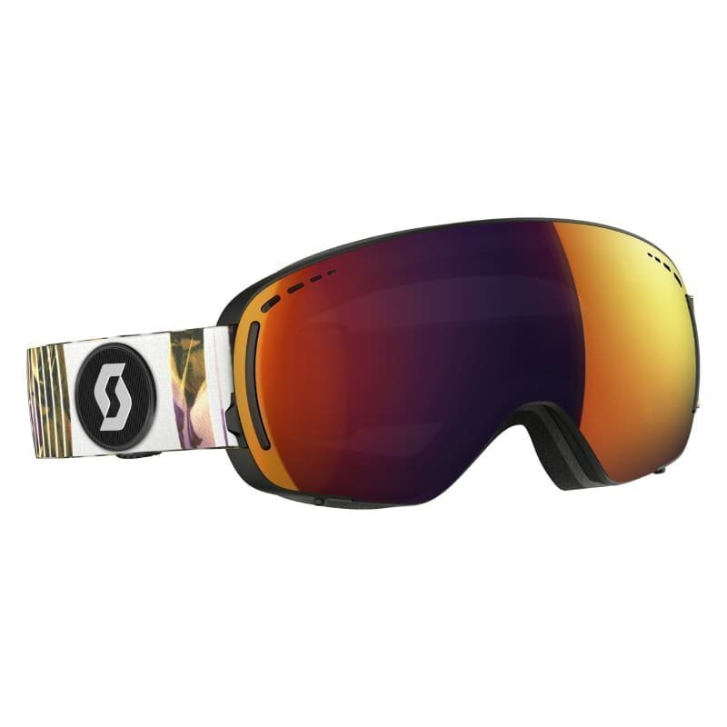 Scott Goggle LCG Compact 1SIZE BLK P/SOL RED CHR