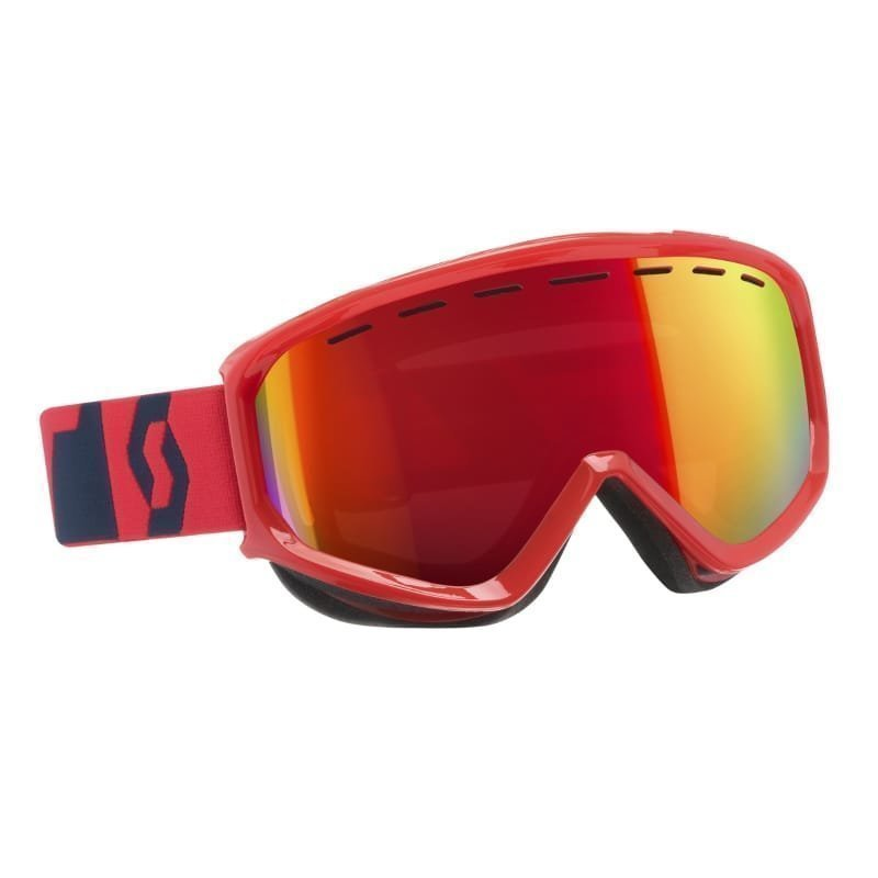 Scott Goggle Level 1SIZE Fluo Red/ Blue Amp