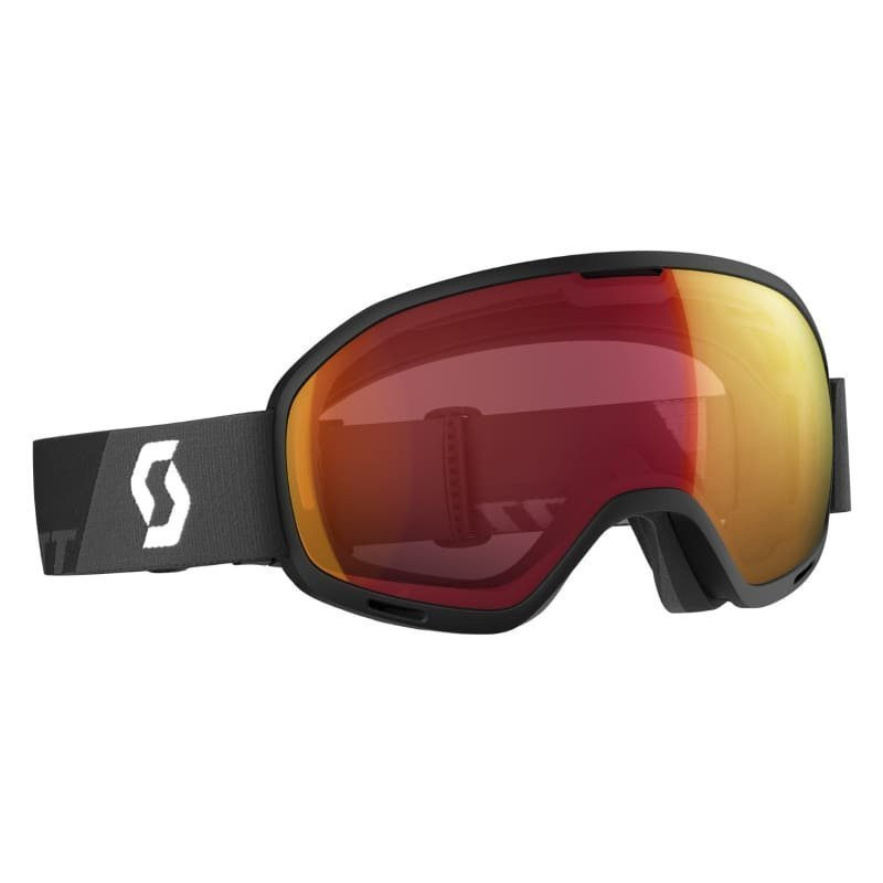Scott Goggle Unlimited II OTG 1SIZE Black/Illuminator Red Chrome