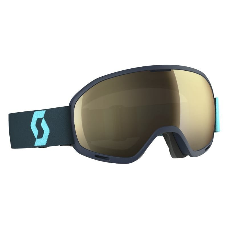 Scott Goggle Unlimited II OTG 1SIZE Blue Light Sens/ Bronze Chrome