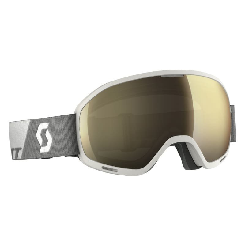 Scott Goggle Unlimited II OTG 1SIZE White/Light Sens Bronze Chrome
