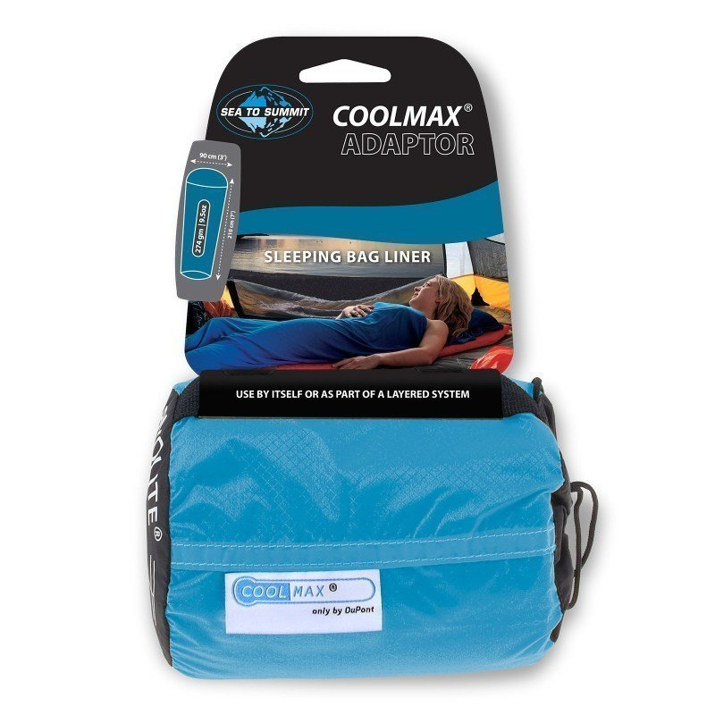 Sea to summit Coolmax® Adaptor Traveller ONE SIZE Blue