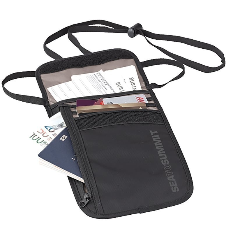Sea to summit Neck Wallet 5 1SIZE Black/Grey