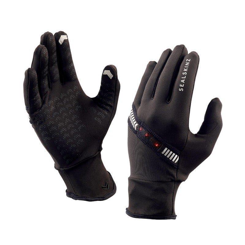 Sealskinz Halo Running Glove L Black