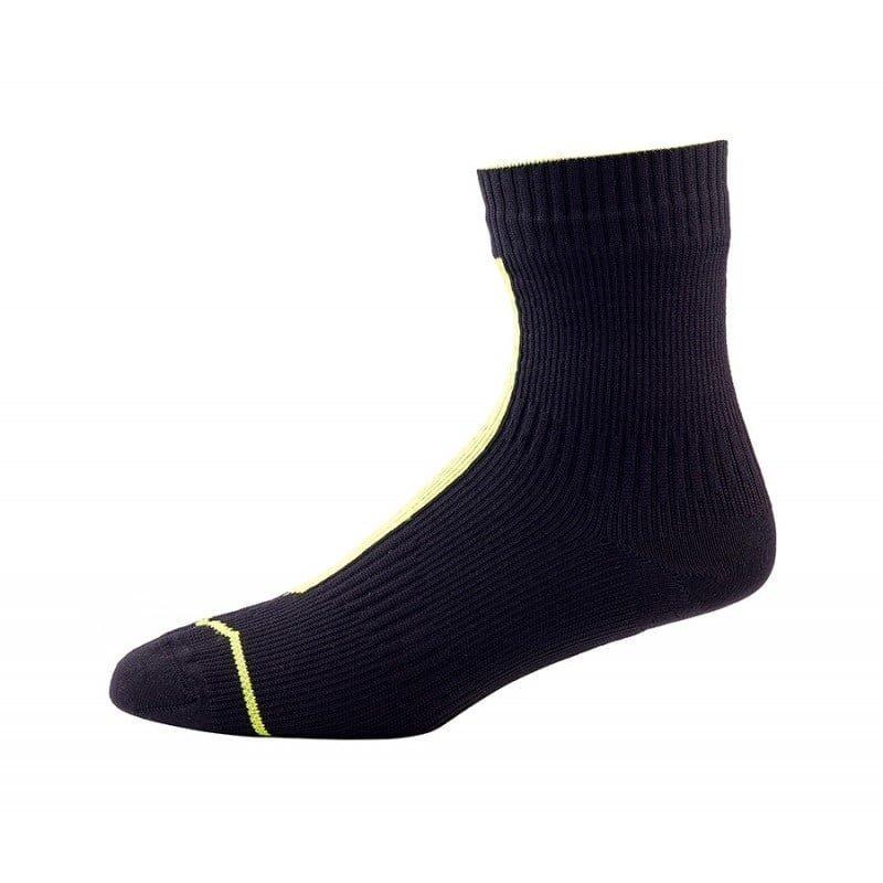 Sealskinz Run Thin Ankle M Black/Hi Vis Yellow