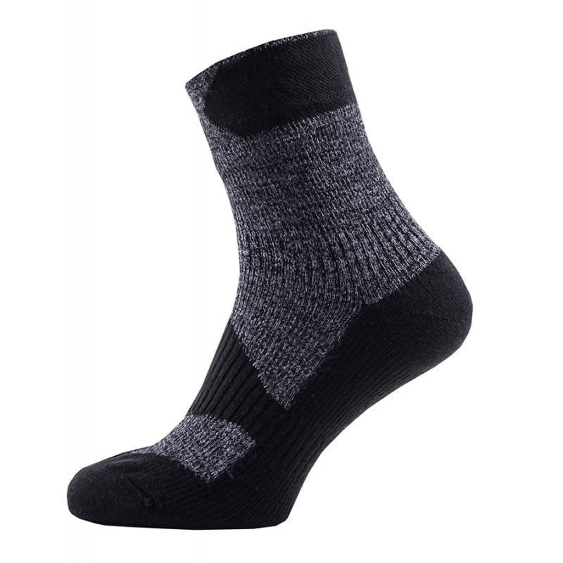 Sealskinz Walking Thin Ankle XL Dark Grey/Black