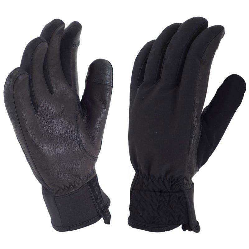 Sealskinz Women's All Season Glove L Black/Charcoal