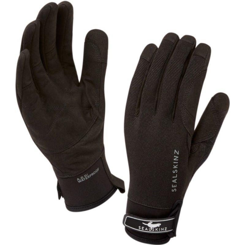 Sealskinz Women's Dragon Eye Glove L Black/Charcoal