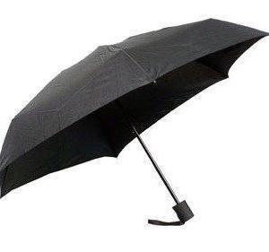 ShedRain matkasateenvarjo musta