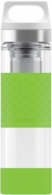 Sigg Hot & Cold Glass Green Vihreä