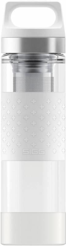 Sigg Hot & Cold Glass Valkoinen