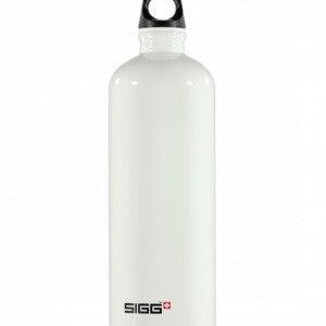 Sigg Traveller Vesipullo Valkoinen 1l